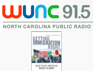 "WUNC ""State of Things"" interview on immigration"